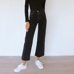 Aritzia Farrah Wide-leg Jean